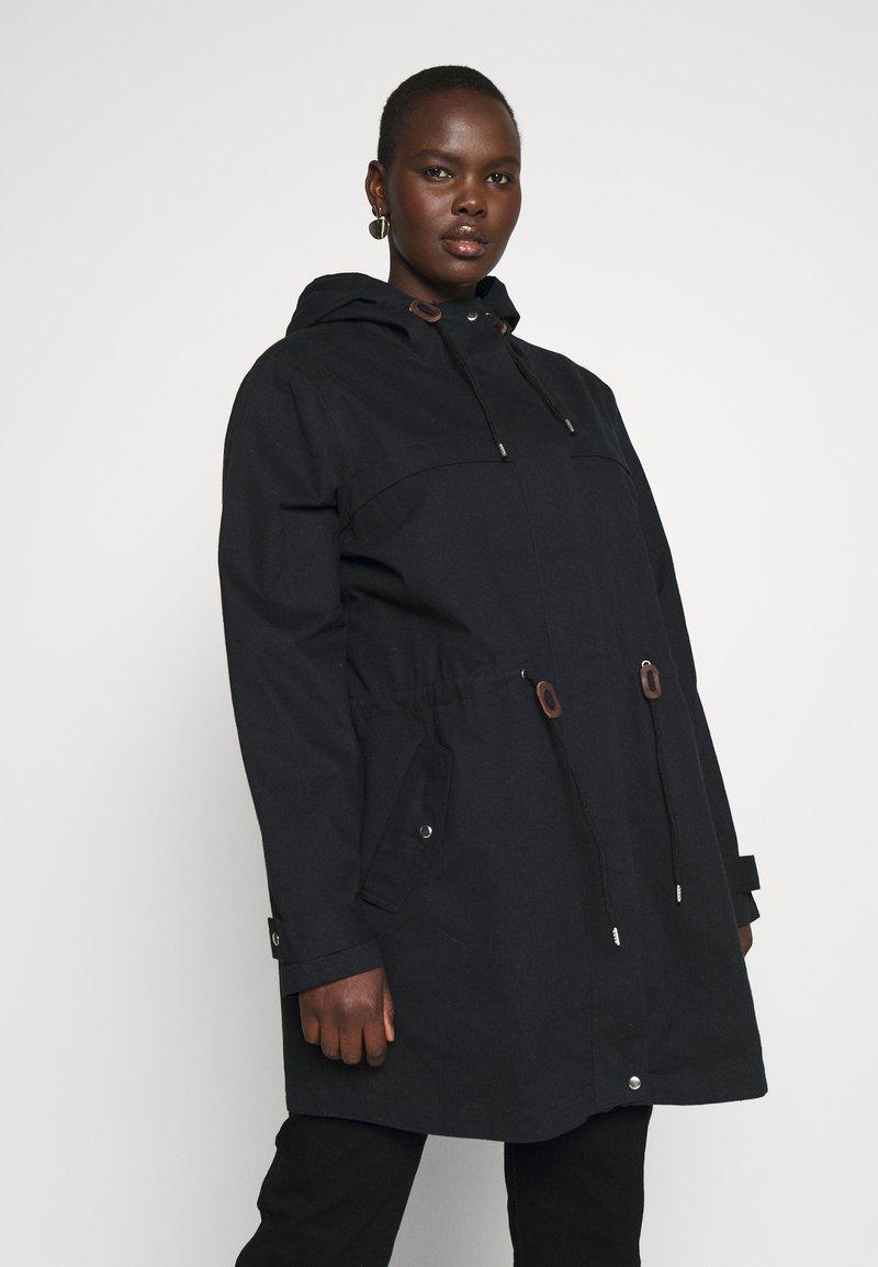 JUNAROSE - by VERO MODA - Classic coat - black washed