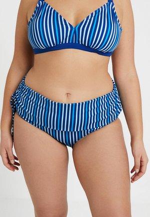 Bikinibroekje - monaco blue/strip