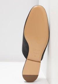 Jil Sander Navy - Pantolette flach - black - 6