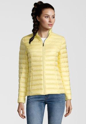 DAUNENJACKE CHA - Gewatteerde jas - gelb