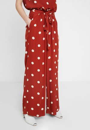 CAIA TROUSERS - Bukser - bam red