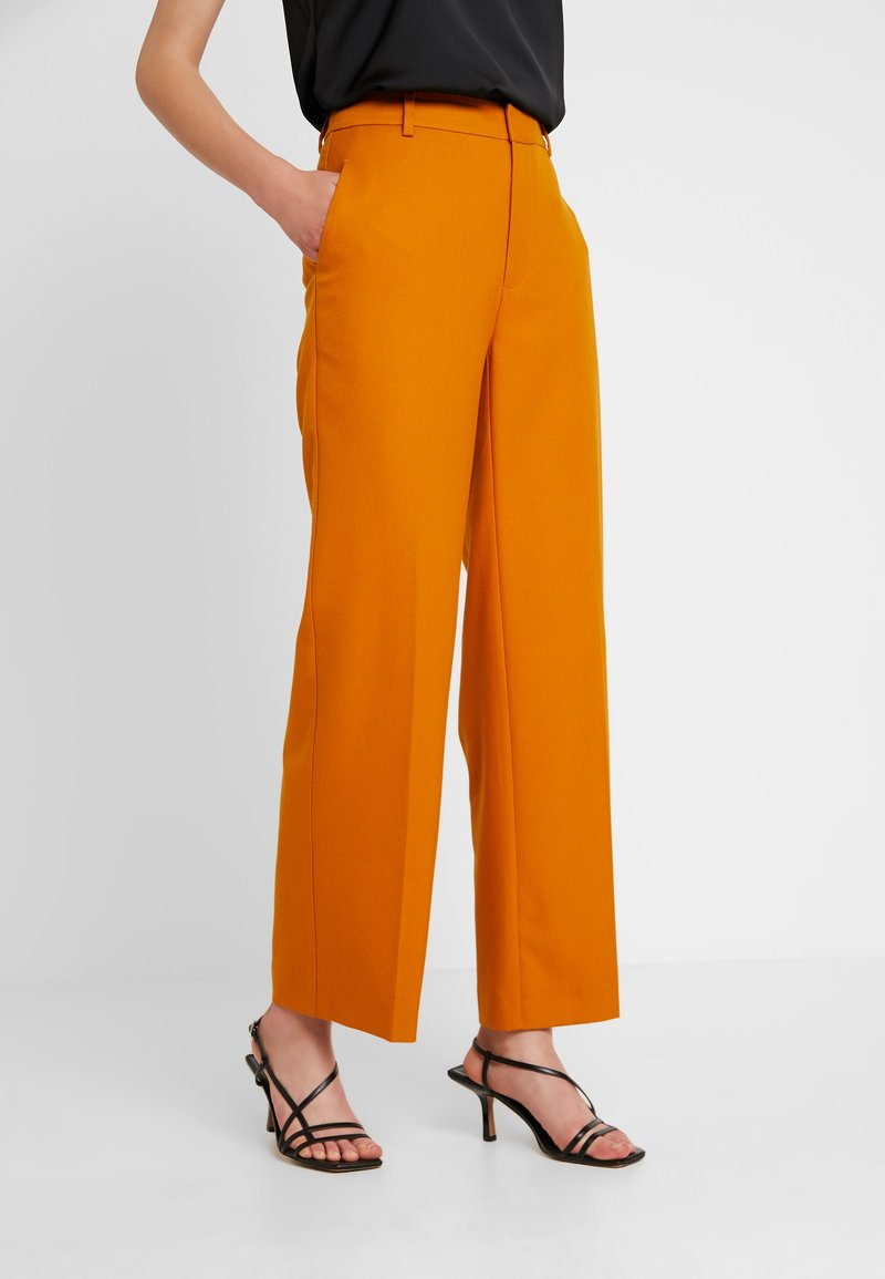 JUST FEMALE - MAX TROUSER - Kangashousut - pumpkin spice