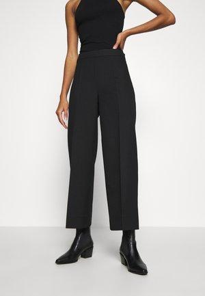 WATSON TROUSERS - Spodnie materiałowe - black