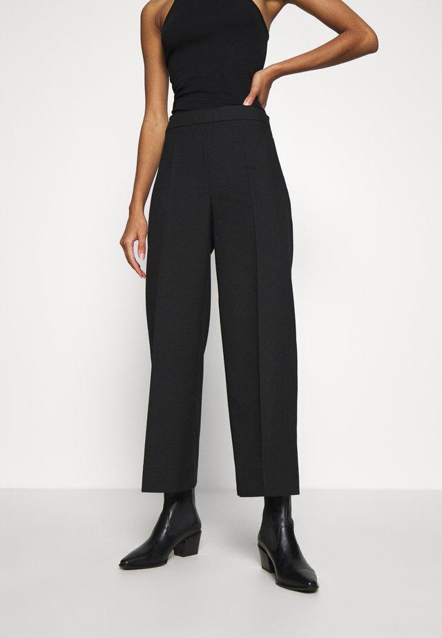 WATSON TROUSERS - Pantalon classique - black