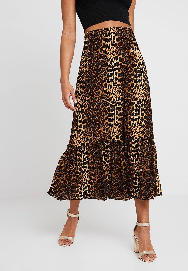JUST FEMALE - ELINOR SKIRT - A-line skirt - brown