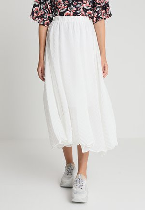 RYAN SKIRT - A-Linien-Rock - optical white