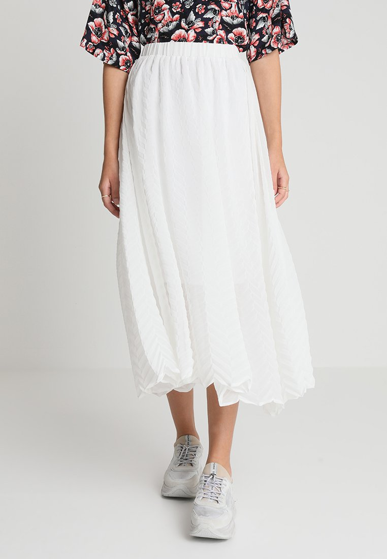 JUST FEMALE - RYAN SKIRT - A-line skirt - optical white