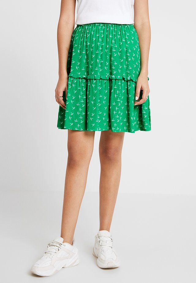 ELVIRA SKIRT - A-lijn rok - green