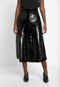 JUST FEMALE - XENA SKIRT - A-line skjørt - black - 0