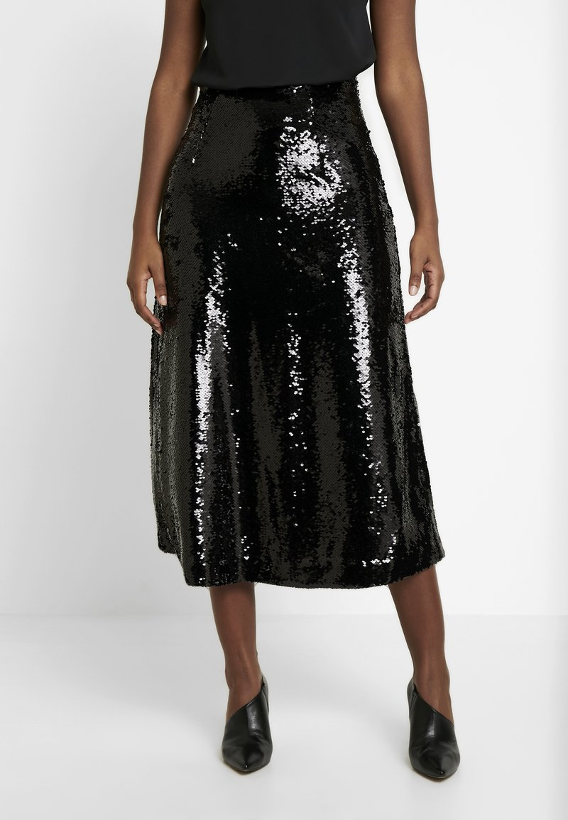 JUST FEMALE - XENA SKIRT - A-line skjørt - black