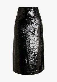 JUST FEMALE - XENA SKIRT - A-line skjørt - black - 3