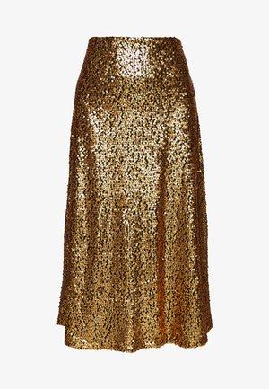 TROYE SKIRT - A-line skirt - troye gold