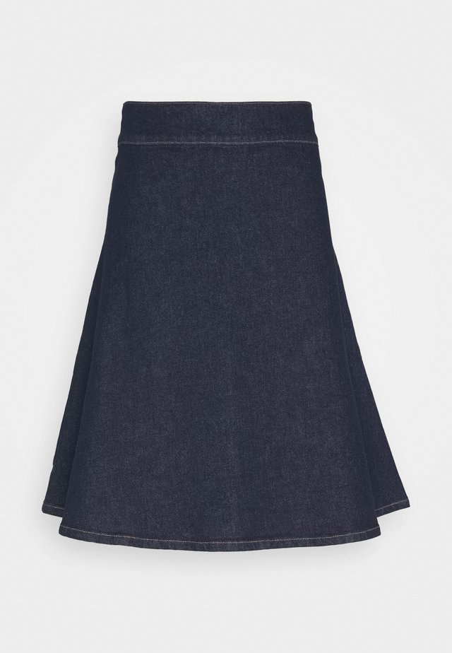 WINNIE SKIRT - A-linjekjol - dark denim