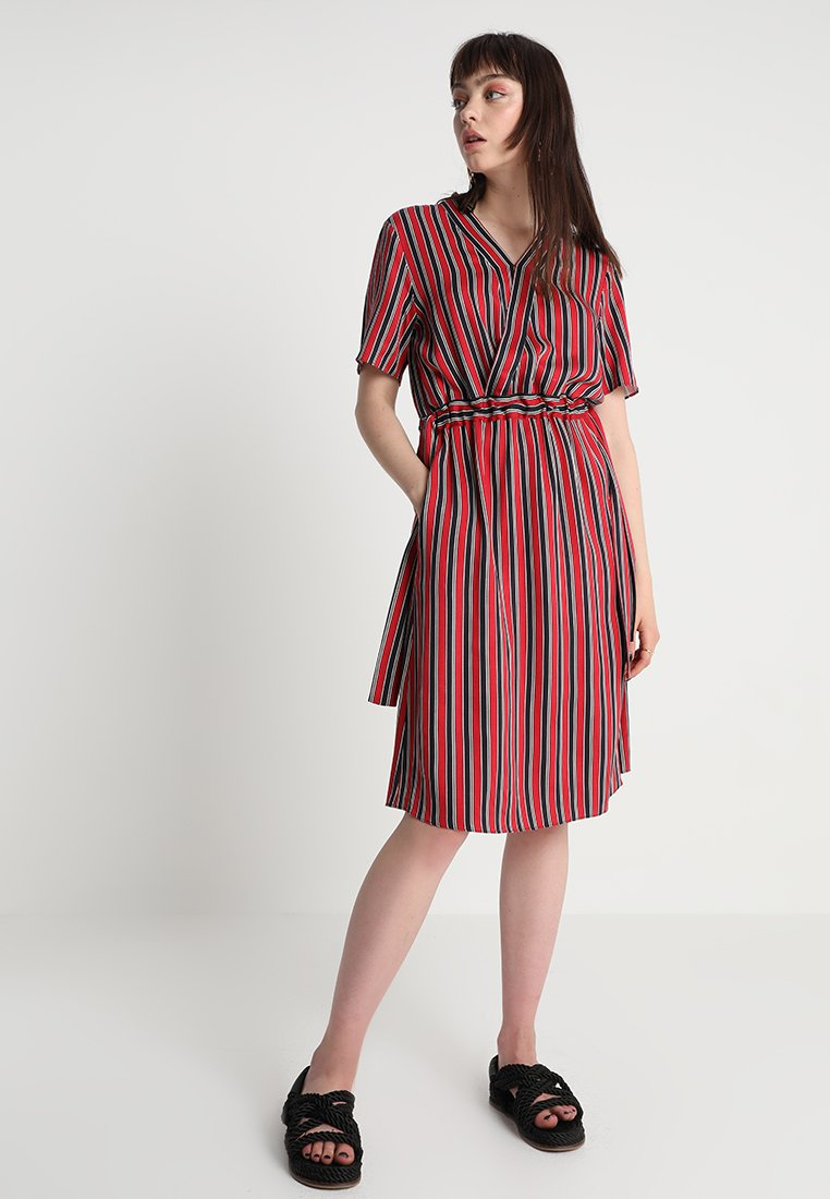 JUST FEMALE - FANNY DRESS - Day dress - red