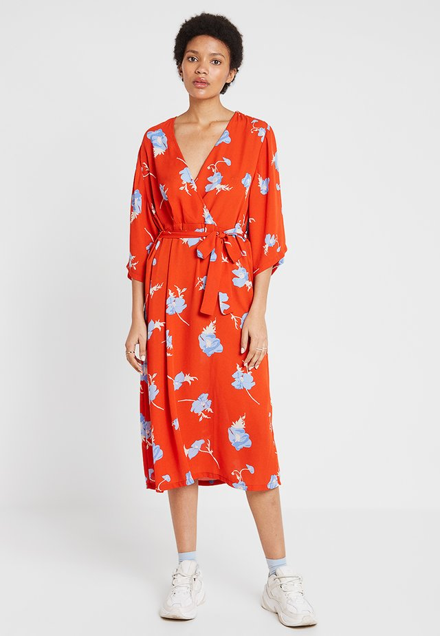 JOHANNA DRESS - Korte jurk - orange poppy