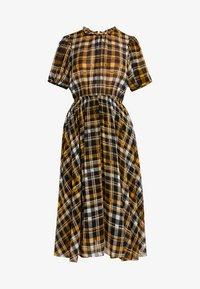JUST FEMALE - BRIX DRESS - Maksimekko - black/yellow - 5