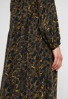 JUST FEMALE - MIE MAXI DRESS - Maxikleid - black/yellow