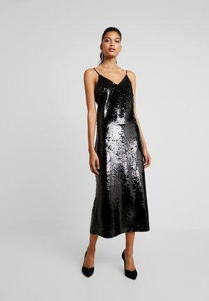 XENA STRAP DRESS - Cocktailklänning - black
