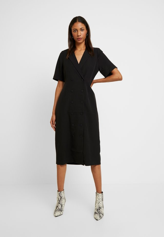 MERCI DRESS - Blousejurk - black