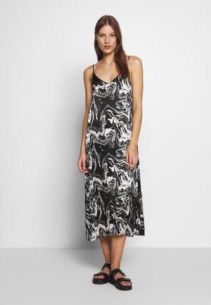 LAVA STRAP DRESS - Kjole - black