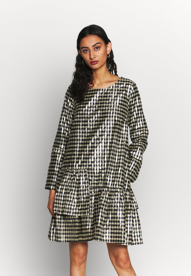 PETRINA DRESS - Korte jurk - petrina check