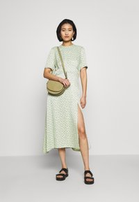 JUST FEMALE - MARIELLE DRESS - Vestido informal - mint/black - 1