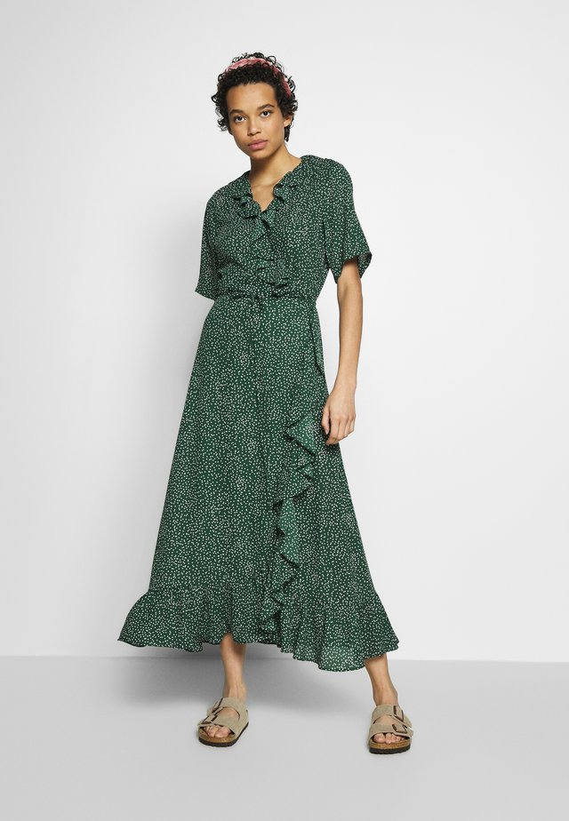 IMAGE WRAP MAXI DRESS - Maksimekko - green