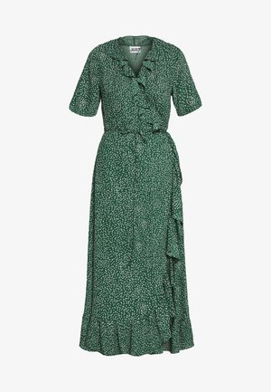 IMAGE WRAP MAXI DRESS - Vestito lungo - green