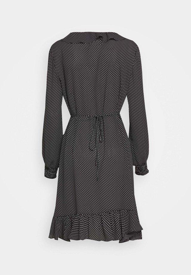 NIRO WRAP DRESS - Vestido informal - black