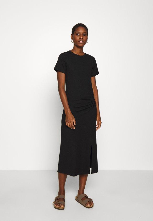 HAZEL DRESS - Robe en jersey - black