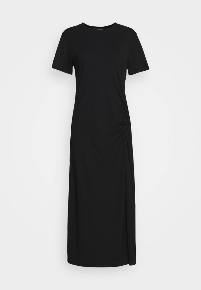 HAZEL DRESS - Trikoomekko - black