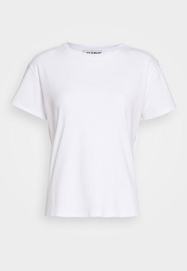 CASH TEE - Basic T-shirt - white