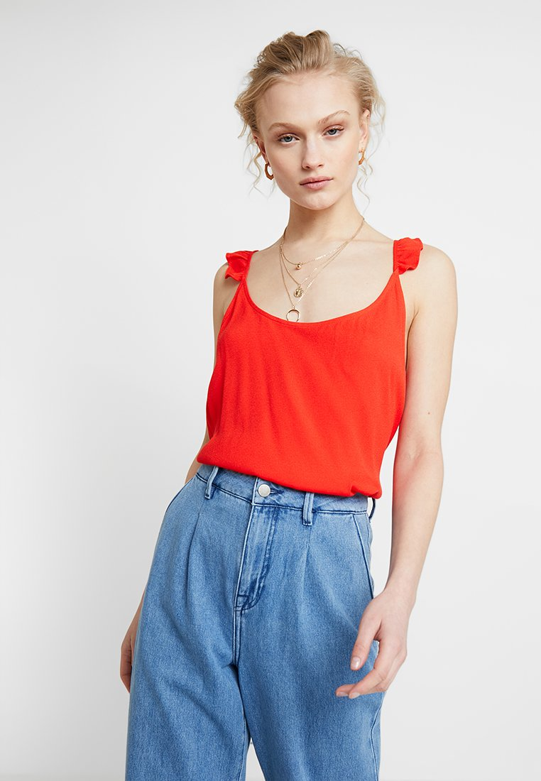 JUST FEMALE - LIFE - Blouse - fiery red