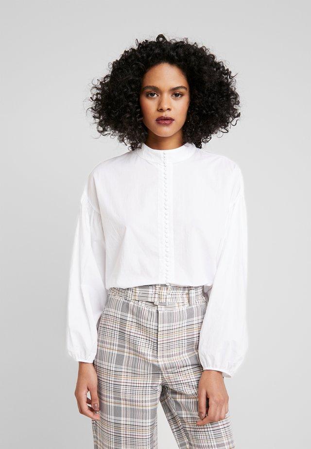 SENNA SHIRT - Button-down blouse - white