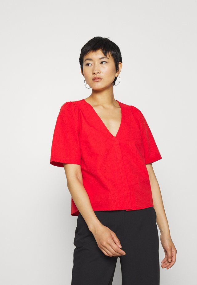 NOVA BLOUSE - Blus - scarlet red
