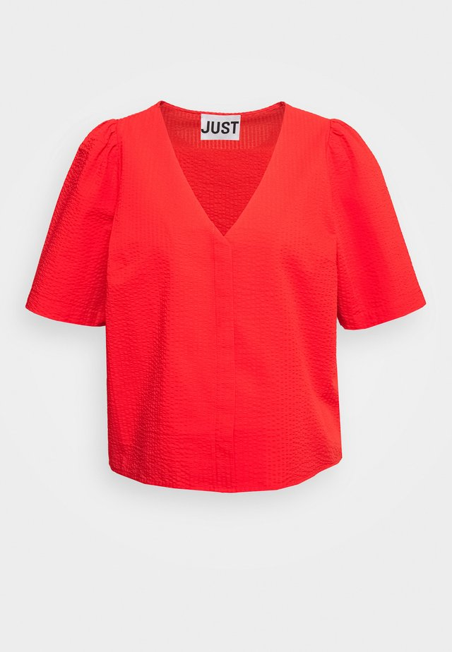 NOVA BLOUSE - Blouse - scarlet red