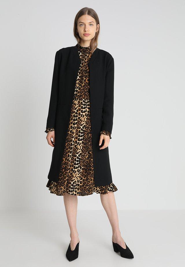 IDA SOFT - Płaszcz wełniany /Płaszcz klasyczny - black