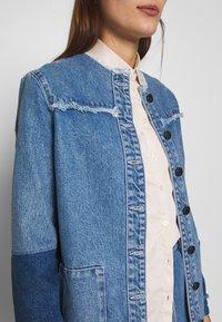 JUST FEMALE - NORMA JACKET - Denim jacket - blue denim - 3