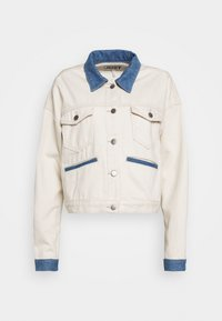 JUST FEMALE - SIKA JACKET - Giacca di jeans - off white - 3