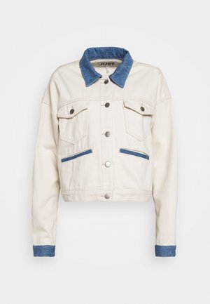 SIKA JACKET - Denim jacket - off white
