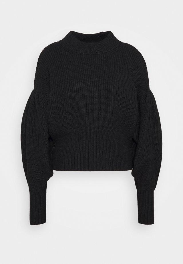 SOPHIE HIGH NECK - Pullover - black