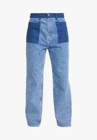 JUST FEMALE - ANGELINA TROUSERS - Flared Jeans - blue denim - 4