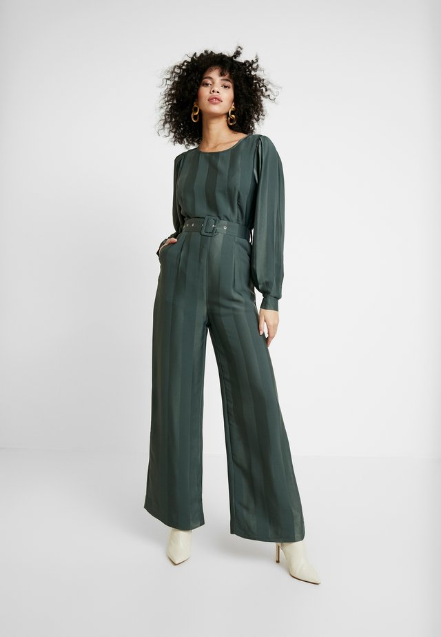 POLLY - Jumpsuit - dark green