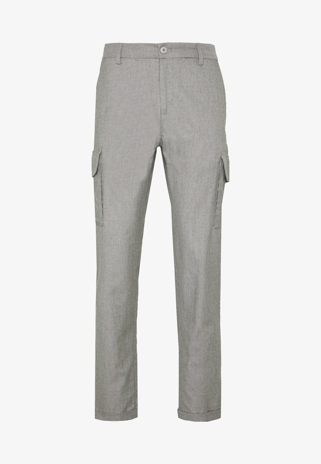 CLUB PANTS - Trousers - grey melange
