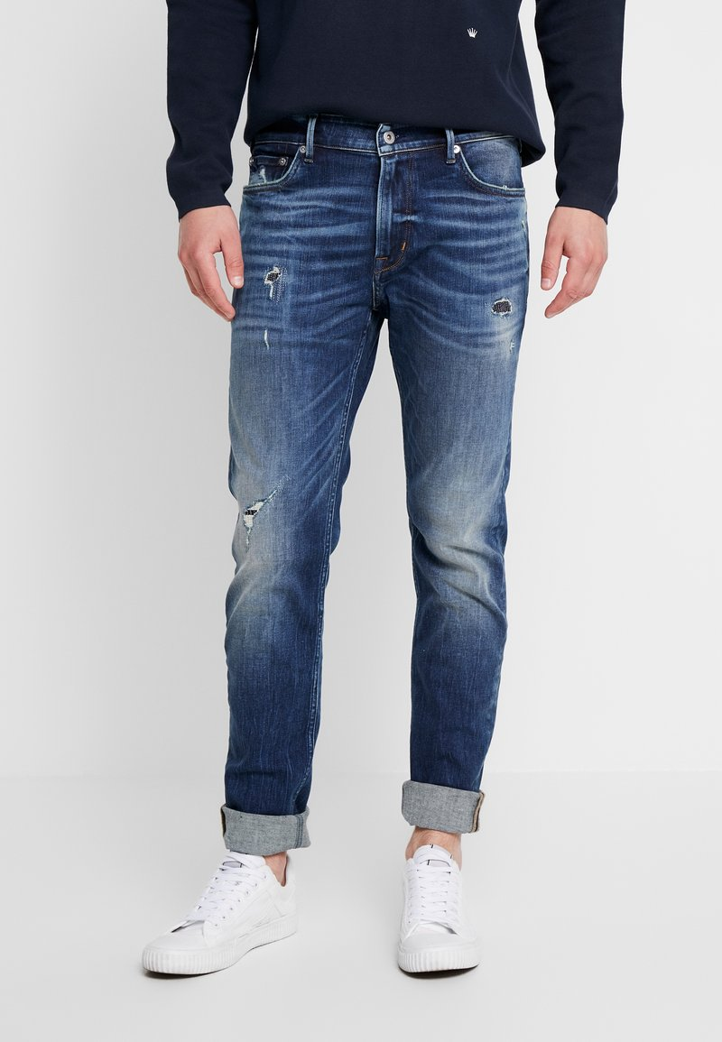 Junk De Luxe - INDIGO SKINNY  - Jeans Skinny Fit -  indigo