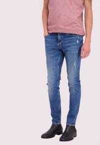 Junk De Luxe - Jeans Skinny Fit - blue denim - 0
