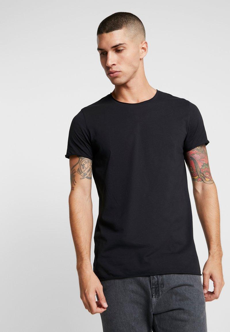 Junk De Luxe - RAW EDGE TEE - T-shirts basic - black