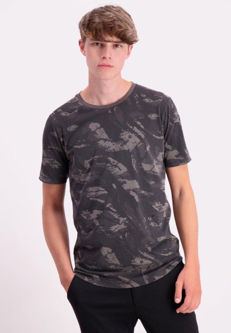Junk De Luxe - T-shirt print - black