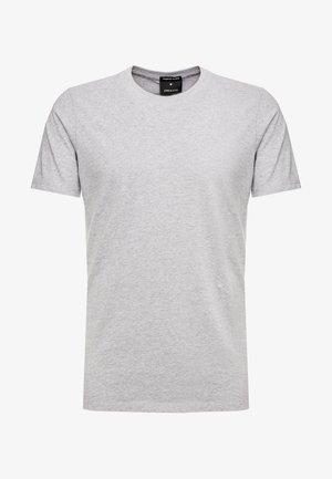 TEE - T-shirt - bas - grey