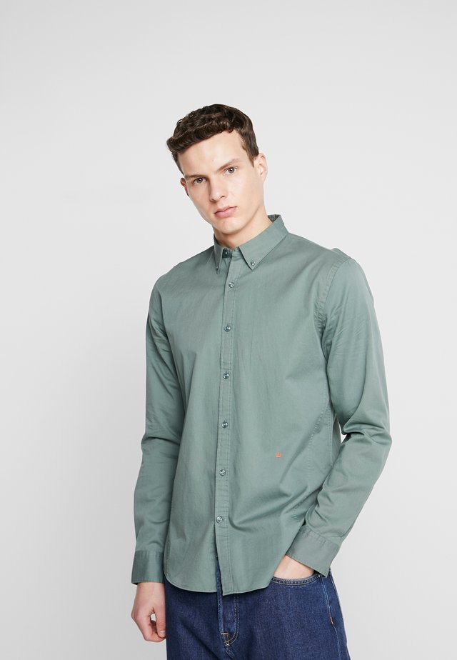 POCKET PRINT SHIRT - Košile - dusty green